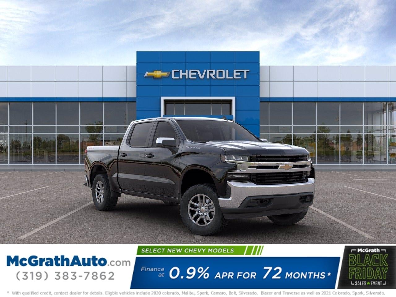 2020 Chevrolet Silverado 1500 Crew Cab 4x4, Pickup #C201762 - photo 1
