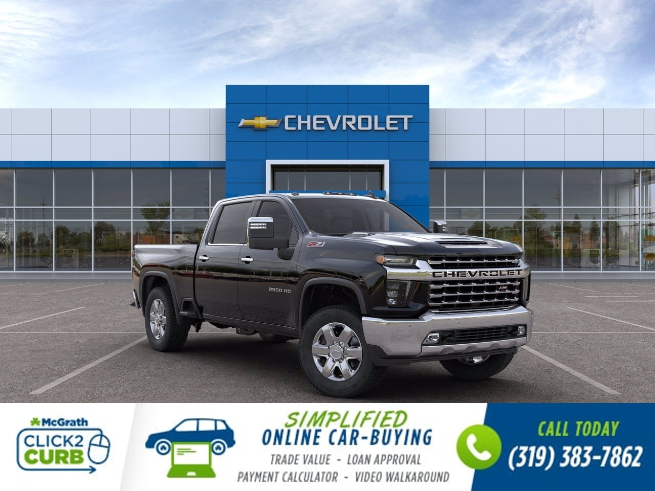 2020 Chevrolet Silverado 2500 Crew Cab 4x4, Pickup #C201766 - photo 1