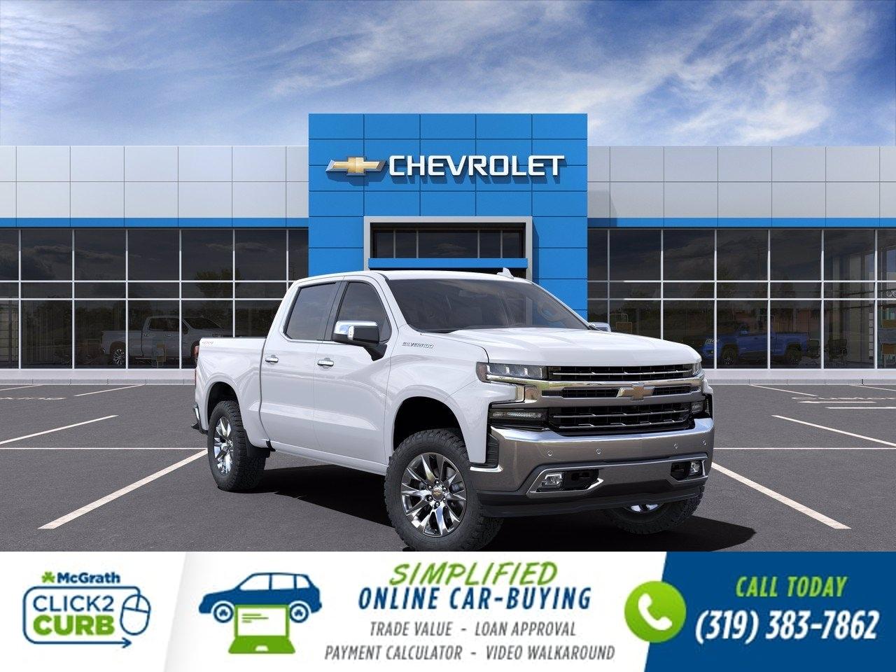 2021 Chevrolet Silverado 1500 Crew Cab 4x4, Pickup #C210170 - photo 1