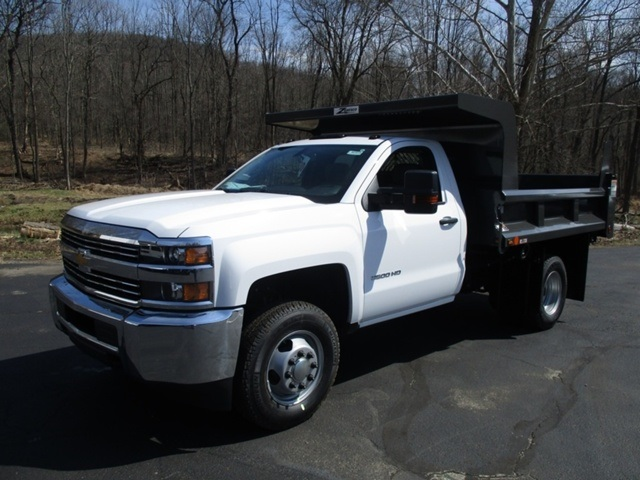 2016 Silverado 3500 Regular Cab 4x4, Rugby Dump Body #160433 - photo 7
