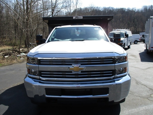 2016 Silverado 3500 Regular Cab 4x4, Rugby Dump Body #160433 - photo 8