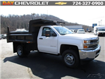 2016 Silverado 3500 Regular Cab 4x4, Rugby Dump Body #160433 - photo 1