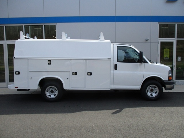 2016 Express 3500, Knapheide Service Utility Van #160447 - photo 3