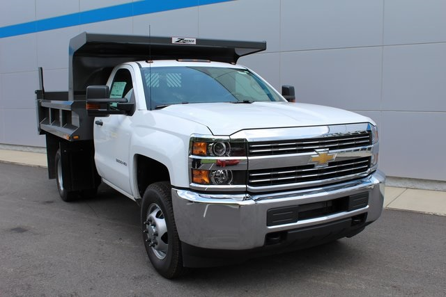 2016 Silverado 3500 Regular Cab 4x4, Dump Body #160484 - photo 3