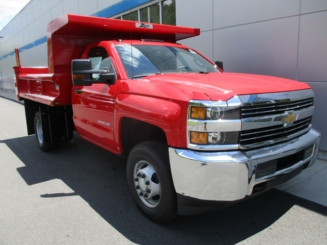 2016 Silverado 3500 Regular Cab 4x4, Dump Body #160812 - photo 11