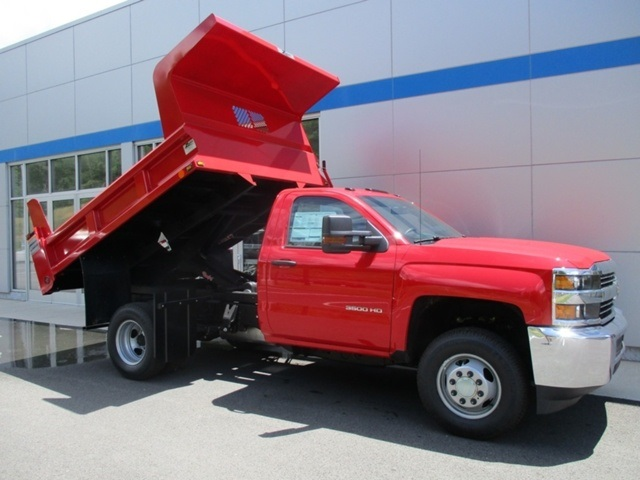2016 Silverado 3500 Regular Cab 4x4, Dump Body #160812 - photo 12