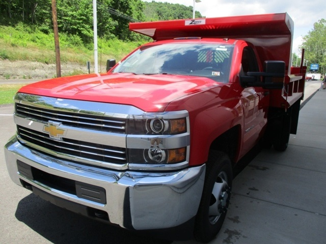 2016 Silverado 3500 Regular Cab 4x4, Dump Body #160812 - photo 9