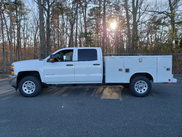 2019 Silverado 3500 Crew Cab 4x4,  Reading Service Body #1610T - photo 4