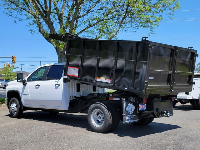 2021 Chevrolet Silverado 3500 Crew Cab 4x4, Reading Landscape Dump #3063V - photo 1