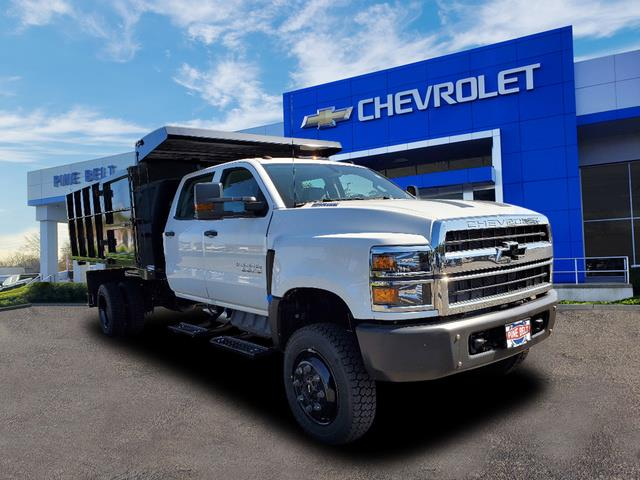 2020 Chevrolet Silverado 4500 Crew Cab DRW 4x4, Reading SL Service Body Landscape Dump #3711U - photo 1