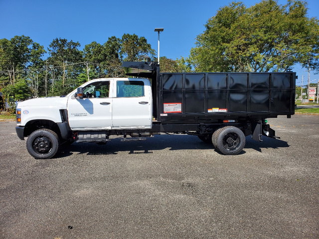 2020 Chevrolet Silverado 4500 Crew Cab DRW 4x4, Reading SL Service Body Landscape Dump #3711U - photo 5