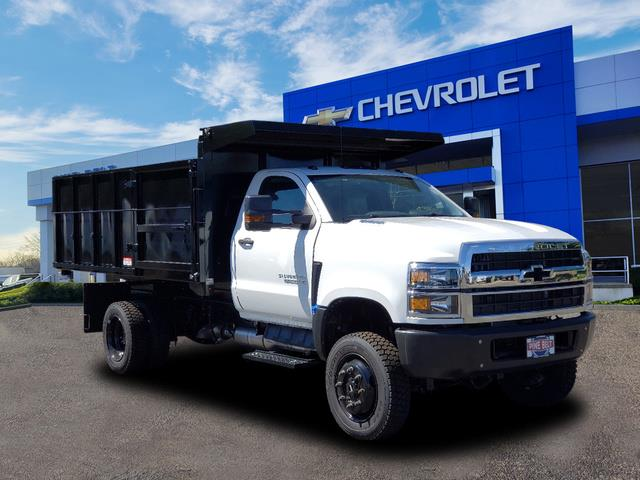 2020 Chevrolet Silverado 4500 Regular Cab DRW 4x4, Reading Landscape Dump #3824U - photo 1