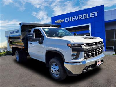 2020 Chevrolet Silverado 3500 Regular Cab DRW 4x4, Reading Marauder SL Dump Body #4577U - photo 1