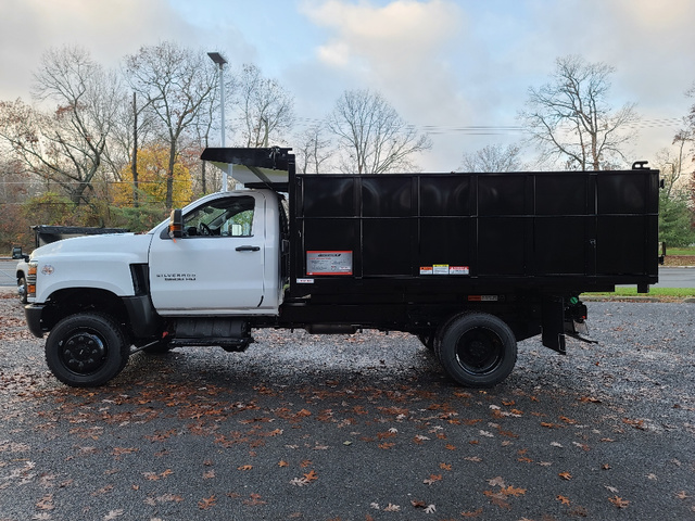 2020 Chevrolet Silverado 4500 Regular Cab DRW 4x4, Reading Landscaper SL Landscape Dump #4721U - photo 5