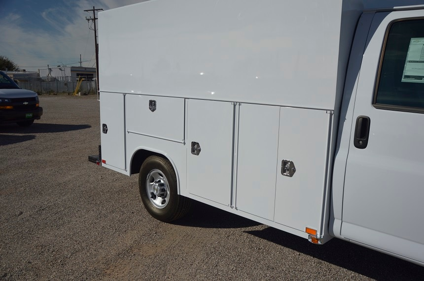 2018 Express 3500 4x2,  Service Utility Van #1308924 - photo 8