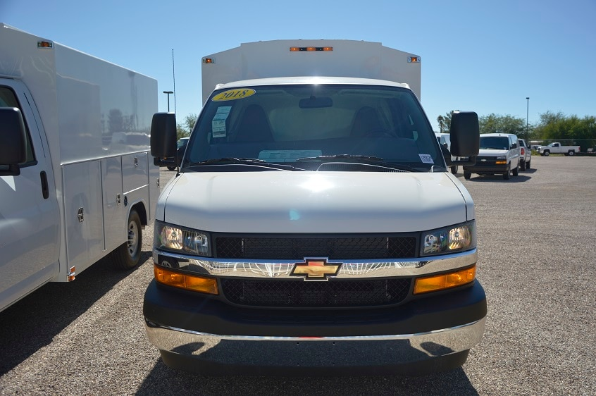2018 Express 3500 4x2,  Service Utility Van #1309228 - photo 4