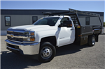 2017 Silverado 3500 Regular Cab DRW, Freedom Contractor Body #F138835 - photo 1
