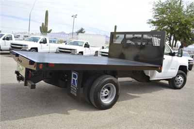 2017 Silverado 3500 Regular Cab, Royal Flatbed Bodies Platform Body #F149803 - photo 2