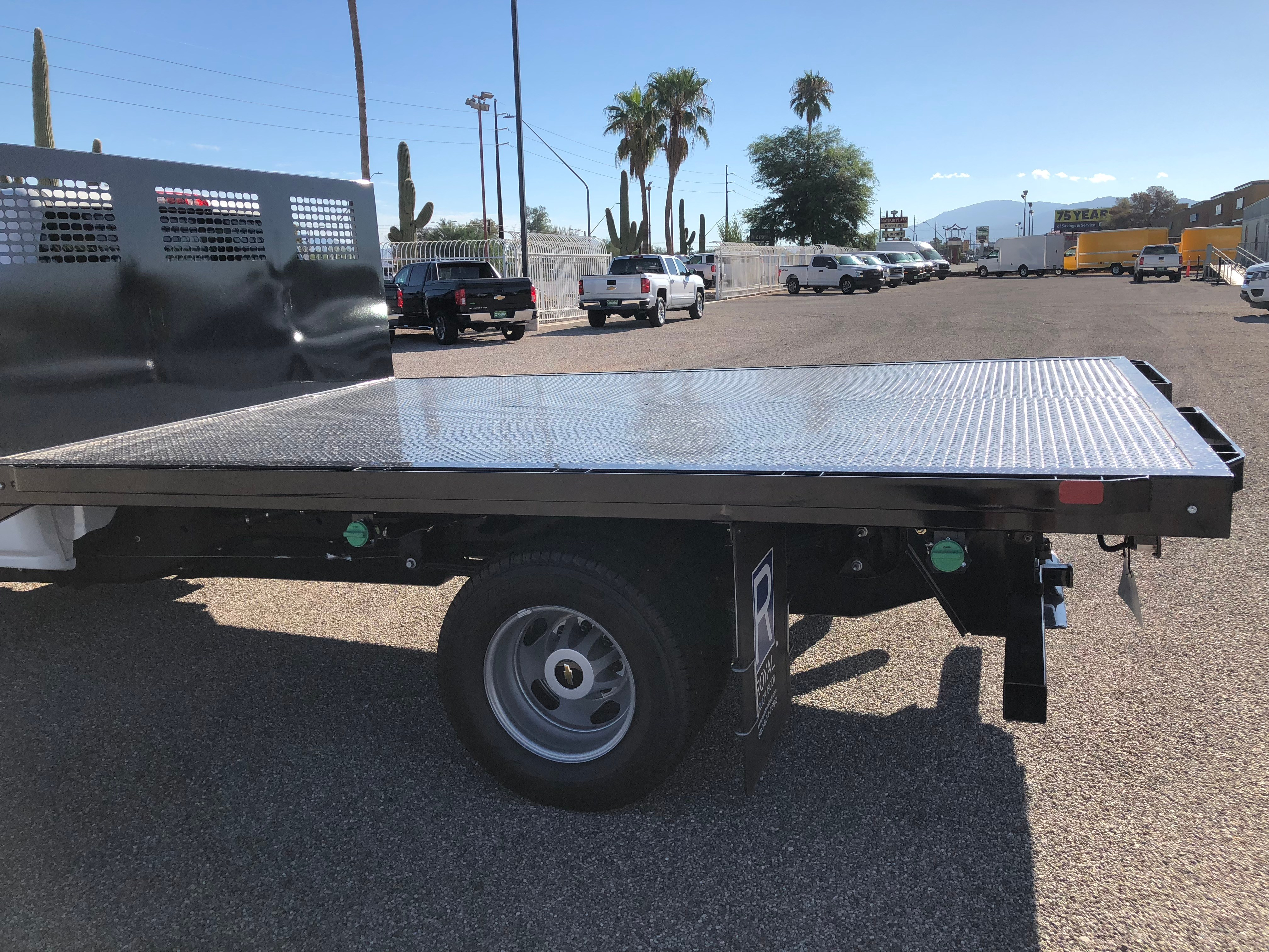 2018 Silverado 3500 Regular Cab DRW 4x2,  CM Truck Beds AL PL Model Platform Body #F237548 - photo 8
