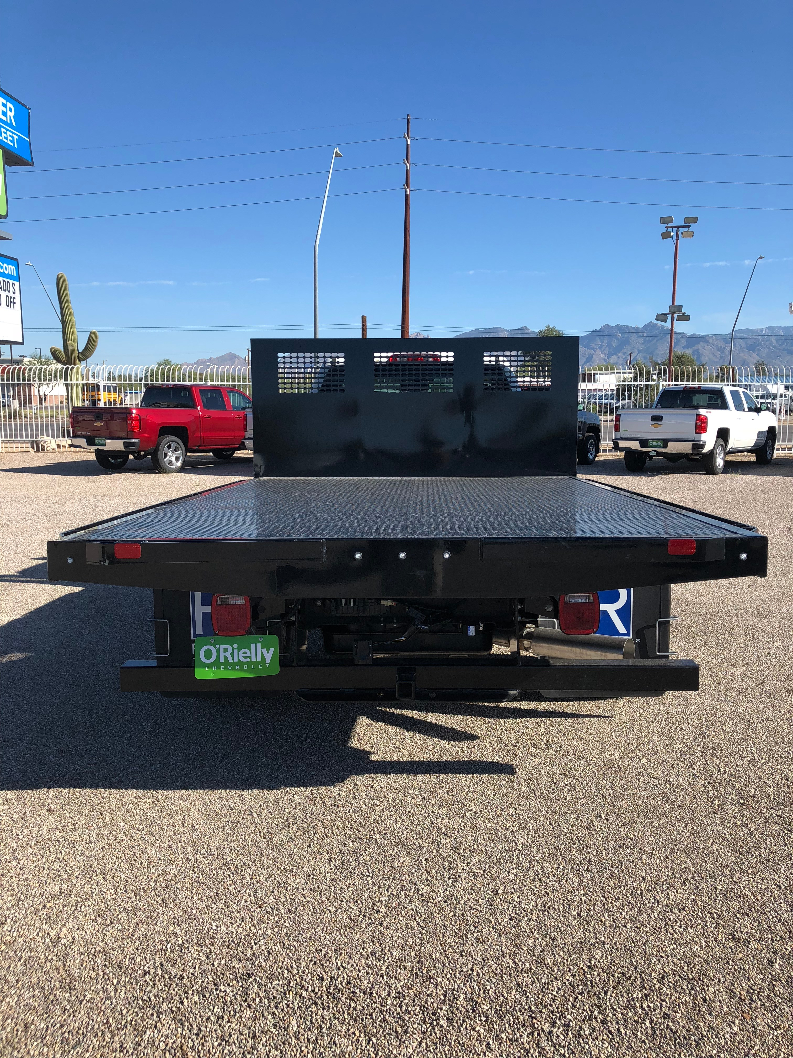 2018 Silverado 3500 Regular Cab DRW 4x2,  CM Truck Beds AL PL Model Platform Body #F237548 - photo 2
