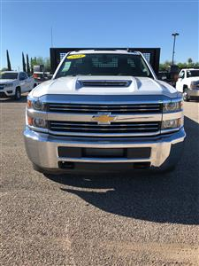2018 Silverado 3500 Regular Cab DRW 4x2,  CM Truck Beds AL PL Model Platform Body #F237548 - photo 3