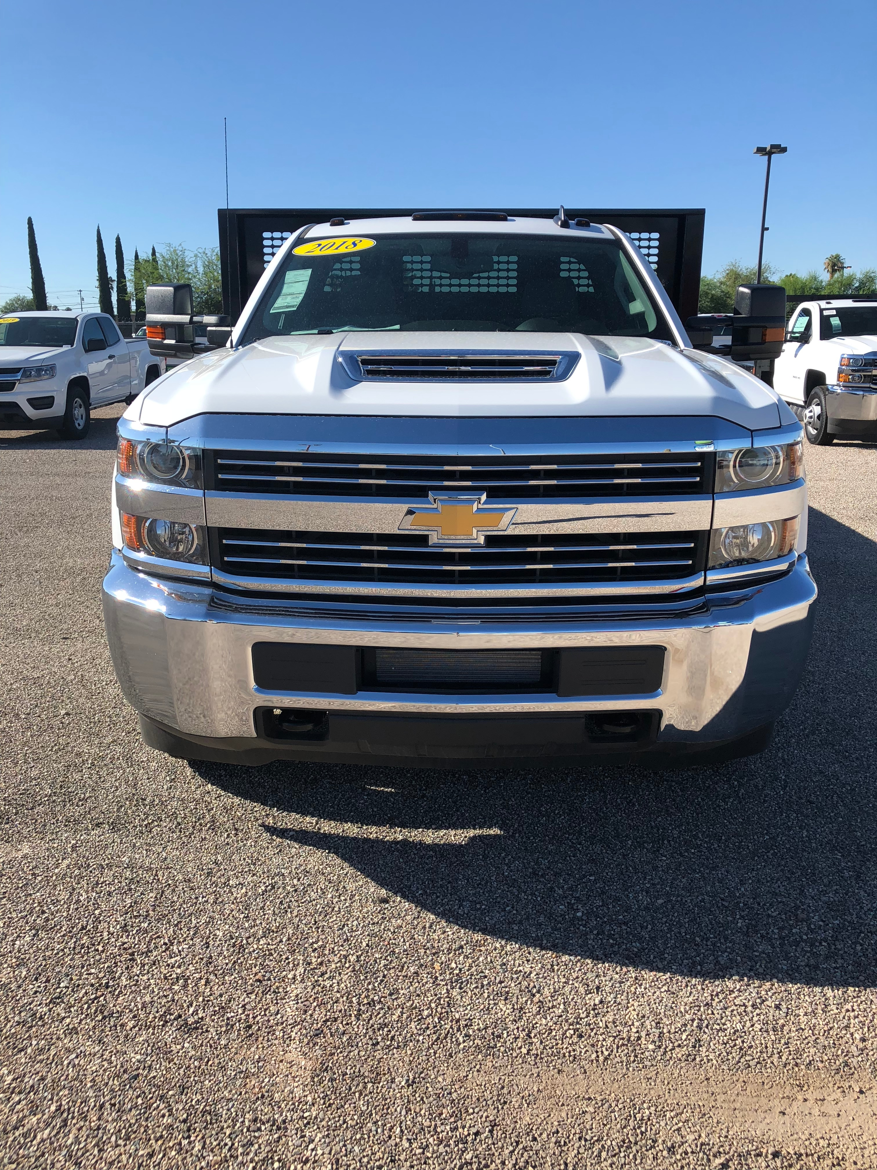 2018 Silverado 3500 Regular Cab DRW 4x2,  CM Truck Beds Platform Body #F237821 - photo 3