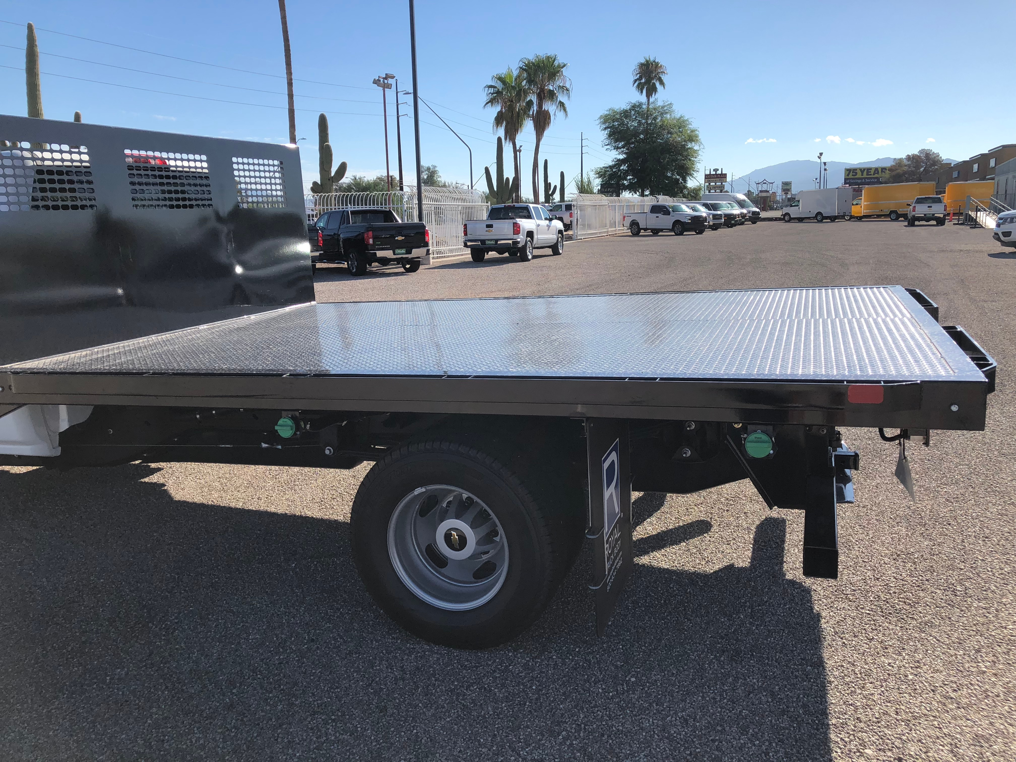 2018 Silverado 3500 Regular Cab DRW 4x2,  CM Truck Beds Platform Body #F237821 - photo 8