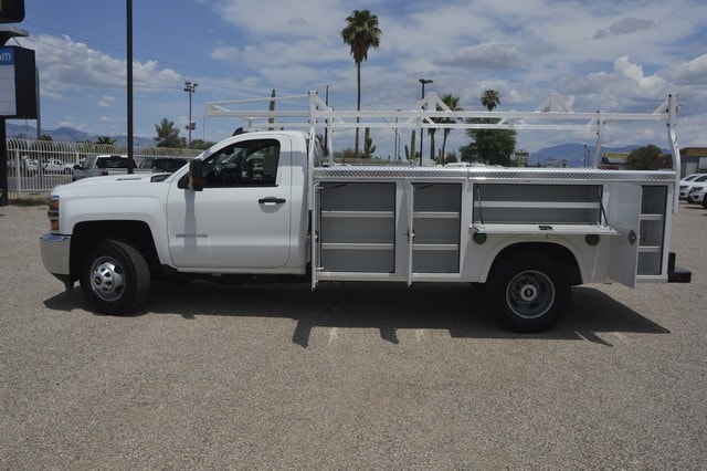 2018 Silverado 3500 Regular Cab DRW 4x2,  Royal Service Body #F239311 - photo 3