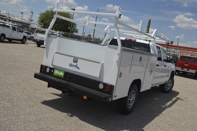 2018 Silverado 2500 Crew Cab 4x2,  Harbor Service Body #F281685 - photo 2