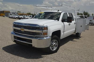 2018 Silverado 2500 Crew Cab 4x2,  Harbor TradeMaster Service Body #F282019 - photo 1