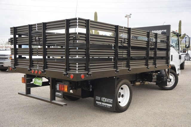 2016 LCF 4500 Regular Cab, Sun Country Truck Stake Bed #S813150 - photo 2