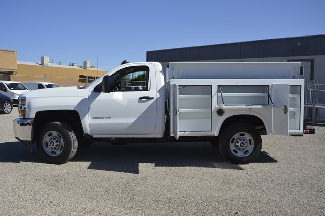 2017 Silverado 2500 Regular Cab, Royal Service Body #Z223306 - photo 10