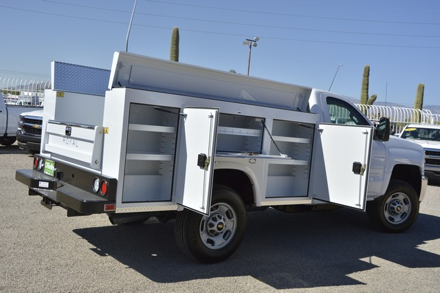 2017 Silverado 2500 Regular Cab, Royal Service Body #Z223306 - photo 2