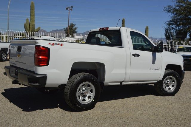 2017 Silverado 1500 Regular Cab 4x4, Pickup #Z242965 - photo 2