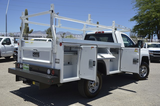 2017 Silverado 2500 Regular Cab, Monroe Service Body #Z244388 - photo 2
