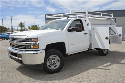 2017 Silverado 2500 Regular Cab, Royal Service Bodies Service Body #Z385498 - photo 1