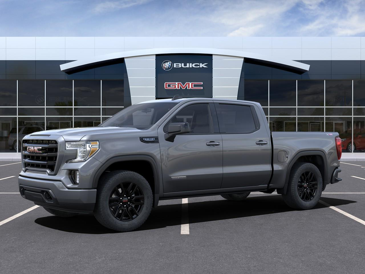 2021 GMC Sierra 1500 Crew Cab 4x4, Pickup #23590 - photo 3