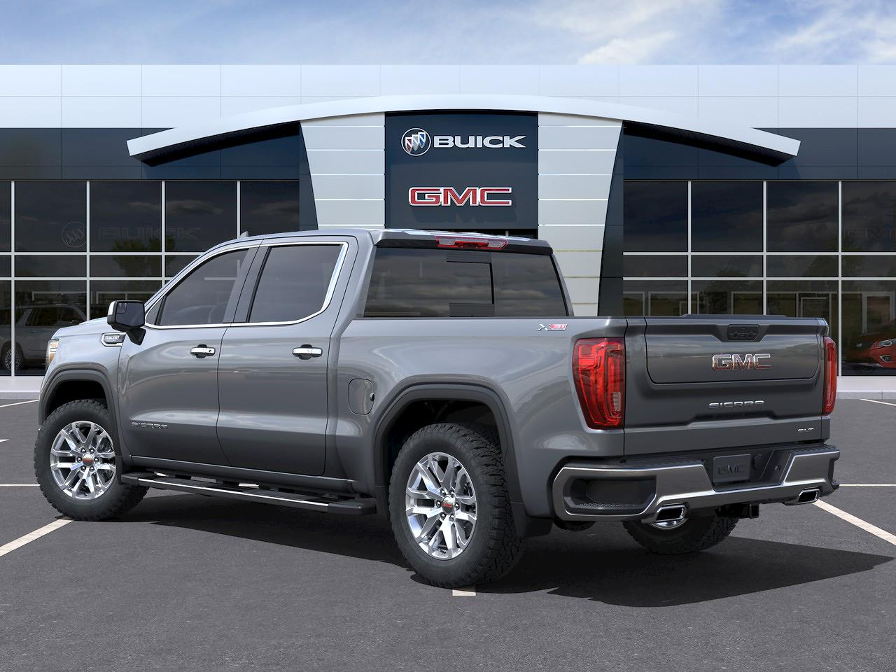 2021 GMC Sierra 1500 Crew Cab 4x4, Pickup #23617 - photo 4