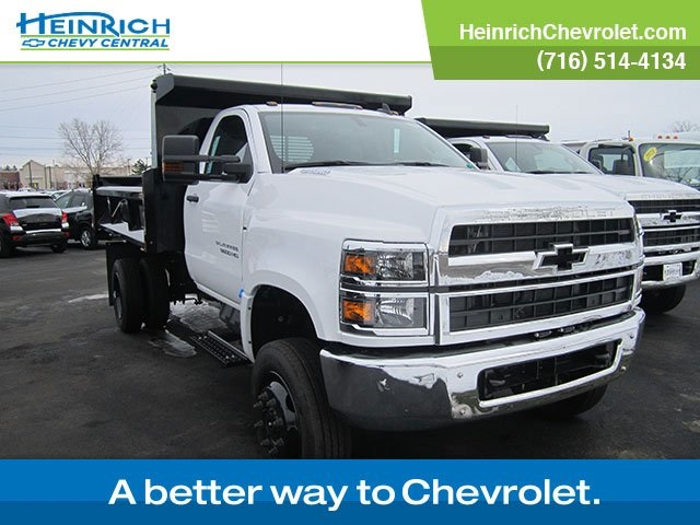 2019 Chevrolet Silverado 5500 Regular Cab DRW 4x4, Rugby Dump Body #126930 - photo 1