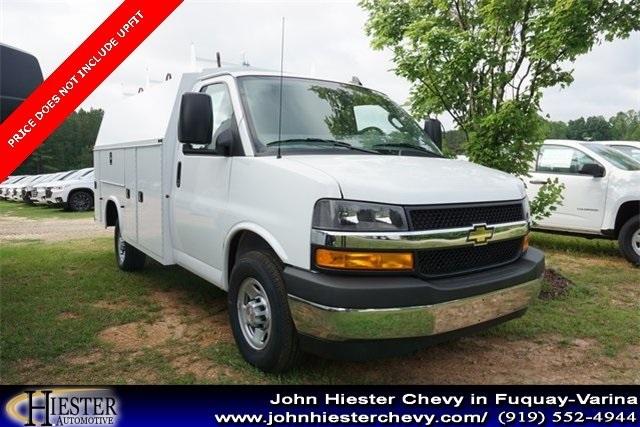 John Hiester Chevrolet Fuquay >> 2019 Express 3500 4x2 Knapheide Kuv Service Utility Van Stock N18003