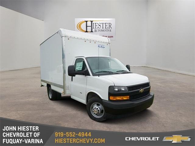 John Hiester Chevrolet Fuquay >> 2019 Express 3500 4x2 Bay Bridge Frp Cutaway Van Stock N18212