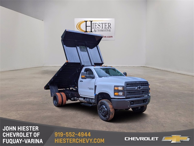 2020 Chevrolet Silverado 4500 Regular Cab DRW 4x4, PJ's Platform Body #N19691 - photo 1