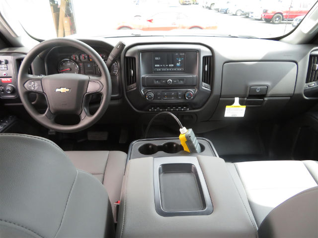 2016 Silverado 3500 Crew Cab DRW, Monroe Platform Body #16C530 - photo 8