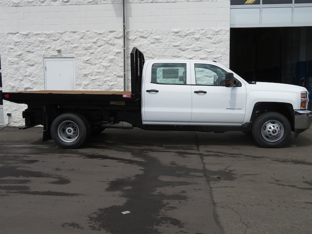 2016 Silverado 3500 Crew Cab DRW,  Monroe Platform Body #16C530 - photo 2