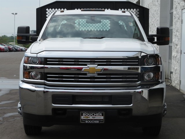 2016 Silverado 3500 Crew Cab DRW,  Monroe Platform Body #16C530 - photo 3