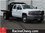 2016 Silverado 3500 Crew Cab DRW,  Monroe Platform Body #16C530 - photo 1