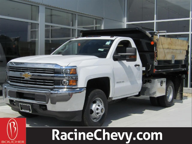 2017 Silverado 3500 Regular Cab DRW 4x4,  Monroe Dump Body #17CC458 - photo 2