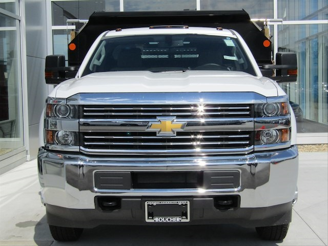 2017 Silverado 3500 Regular Cab DRW 4x4,  Monroe Dump Body #17CC458 - photo 5