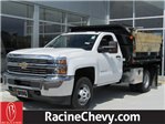 2017 Silverado 3500 Regular Cab DRW 4x4,  Monroe Dump Body #17CC458 - photo 1