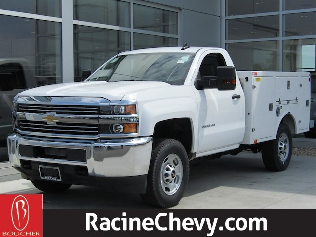 2017 Silverado 2500 Regular Cab 4x4,  BrandFX Body EverLast Service Body #17CC627 - photo 1
